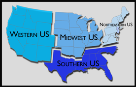 Water Issue Regions in the US